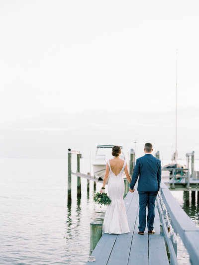 Private Estate Wedding in St. Michaels on the docks