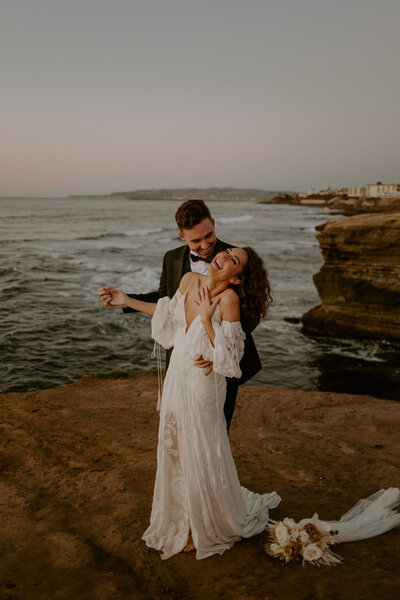 Sunset Cliffs Wedding | San Diego | Kaitlyn + Eddie | Alison Faith Photography-1042