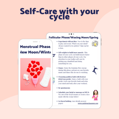 Self-Care with your cycle