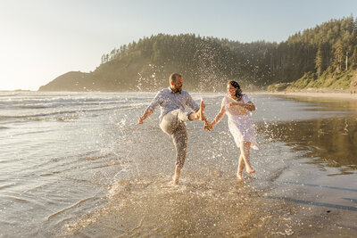 Cannon Beach Engagement Photos-87