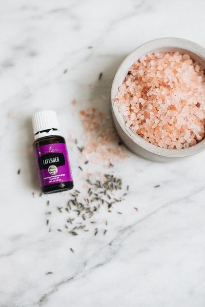 himalyan sea salt lavender essential oil
