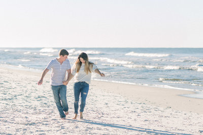 Couple portraits on Rosemary Beach captured by Staci Addison Photography