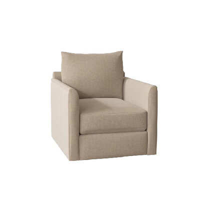 Beige-tan-swivel-chair-with-square-back---best-swivel-chairs-under-$500-by-the-savvy-heart