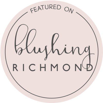 Blushing Richmond Featured Badge