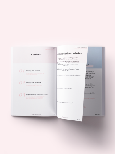Azalea Design Co. | Ideal Client Workbook