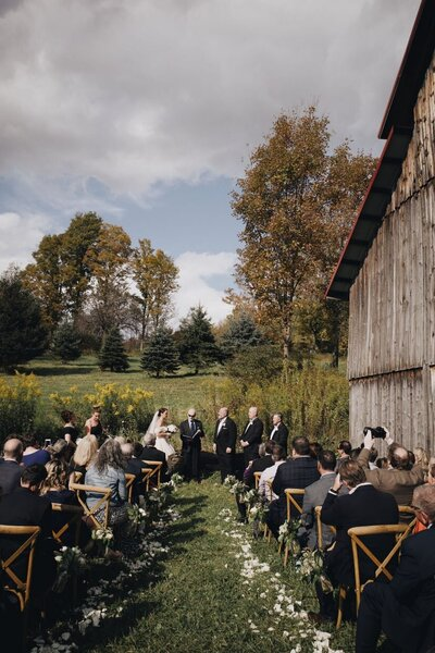 Barn Wedding Venue Ceremony Catskills Barn Wedding Catskills Wedding Planner Canvas Weddings