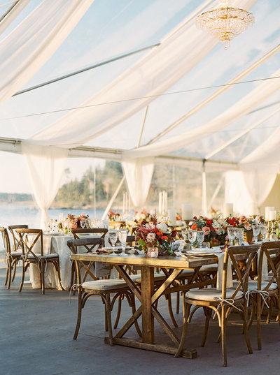 Luxury Montana Wedding Reception by Greenwood Events