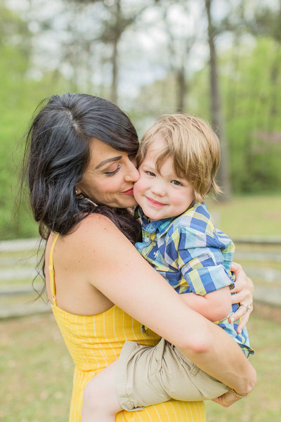 Mom and son photo pose ideas