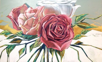 A_bunch-of-roses_30x48_3