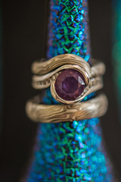 custom ring photography james binnion arts mermaid wedding