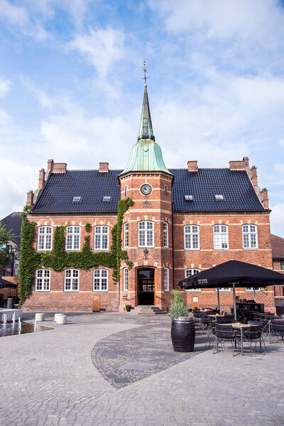 Town hall in Silkeborg
