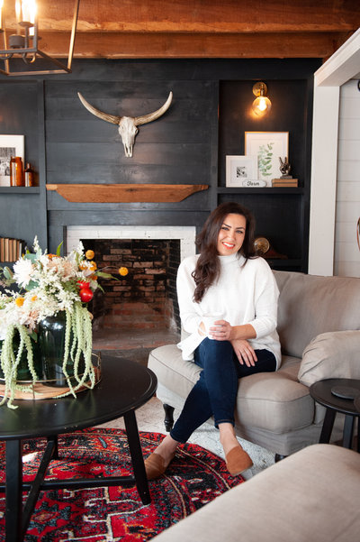 Korilyn Martin of the Farmhouse Life in Home