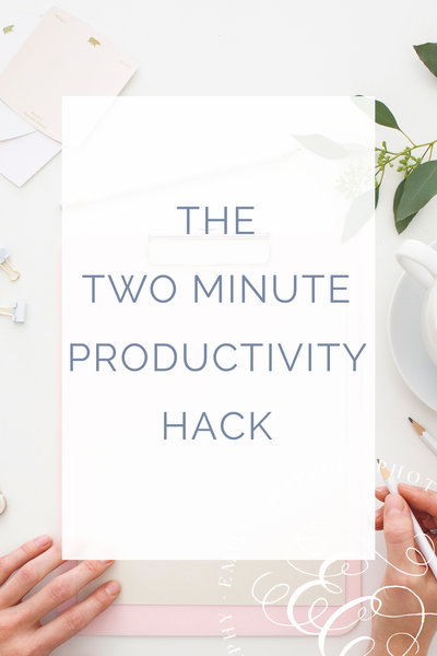 Two Minute Productivity
