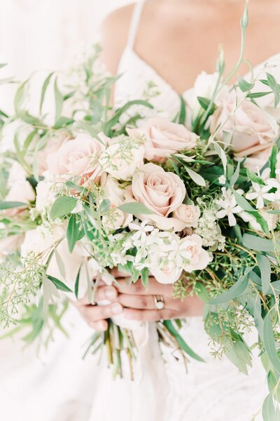 Not Jess A Planner neutral tones bouquet