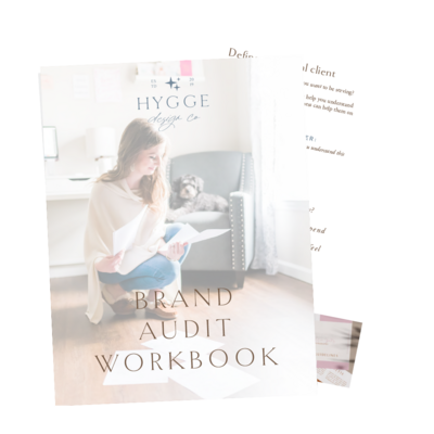 brand audit workbook