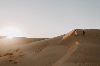 Glamis sand dunes Moroccan Inspired Elopement Skyler and Vhan