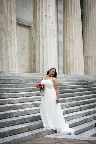 Bride at Second National Bank Philadelphia PA
