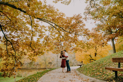Leah Redmond Photography Wedding Couple Engagement Portrait Lifestyle Milwaukee Wisconsin Moody Natural Photographer Dark Architecture Architectural14