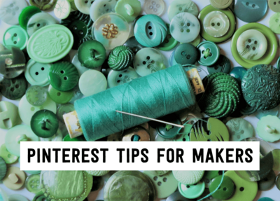 Pinterest tips for makers