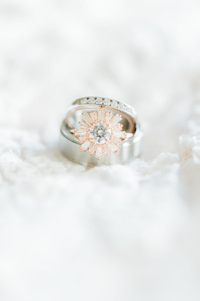 Wedding rings are as unique as the love shared between the two exchanging vows.