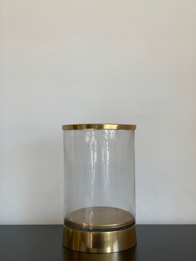 Gold and Glass Hurricane - Large