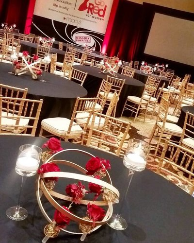 American Heart Mission Possible Centerpiece