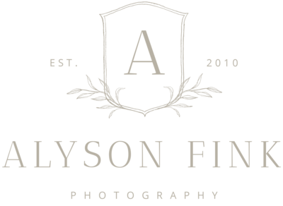 Alyson Fink Photography - Logo
