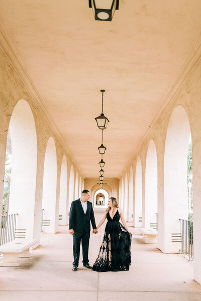 Balboa Park Engagement Session, San Diego