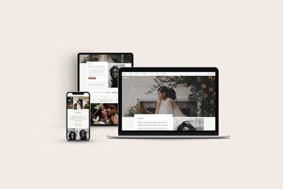 With Grace and Gold - Best Logo Brand Web Website Design Designs Designer Designers Theme Themes Template Templates Creative Small Business Owners - 1