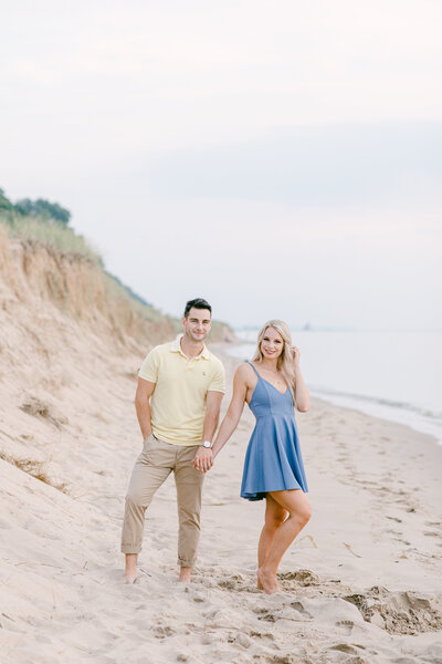 Leidy and Josh Photography | Holland Beach Engagement-0942