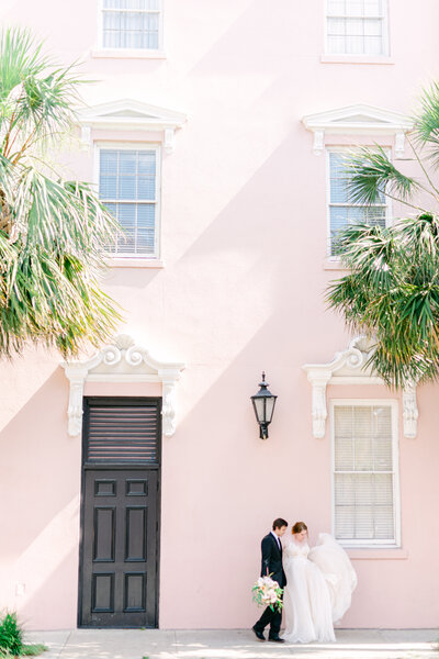 "Romantic. Fresh. Bright. Charleston Wedding Photographer. Featured in Charleston Wedding Magazine and Awarded ""Best of Weddings"" on The Knot 2020!"
