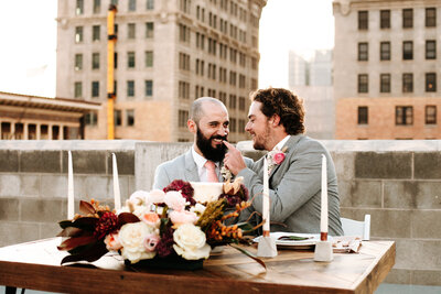 Downtown Salt Lake City Wedding - LGBTQ Wedding SLC, Photo by Marina Rey Photography-0967