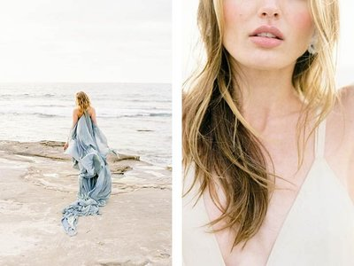 Coastal Beach Wedding Inspiration- Ashley Rae Photography Arizona and California Film Photographer15