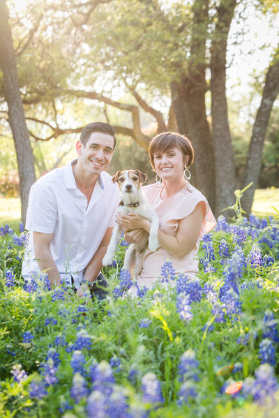 Austin Family Photographer, Tiffany Chapman Photography baby in bluebonnets photo