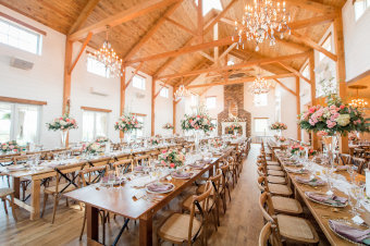 elegant wedding  venue reception hall