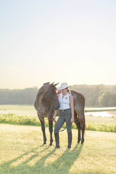 High School Senior Equine Horse Photography