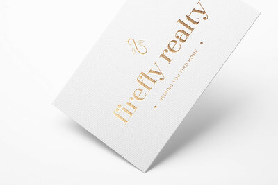 Firefly Realty Logo on Card_Jessica Lynn Creative
