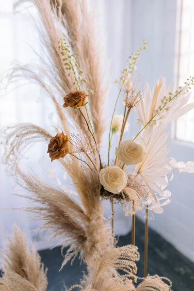 pampas grass for wedding day