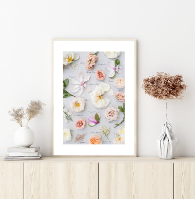 Heirloom Bouquet Stock Image