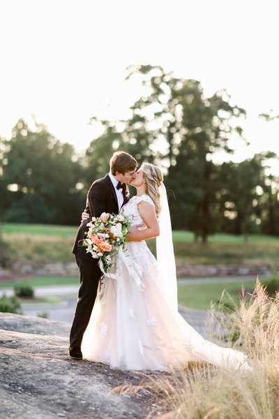 Romantic South Carolina Wedding at The Cliffs at Glassy Chapel
