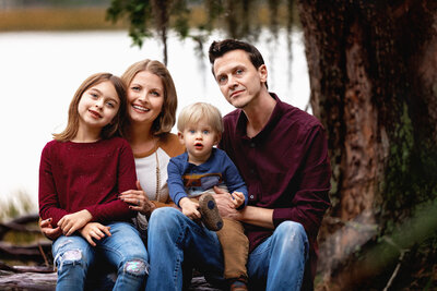 Family Portrait Session, Skidaway Island Park, Savannah