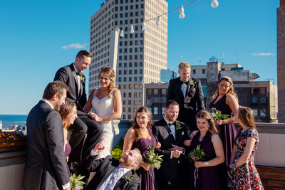 rooftop_wedding_party_milwaukee
