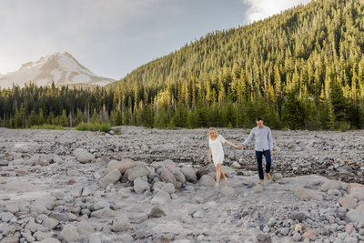 Mt. Hood Oregon Engagement Photographer Summer-93