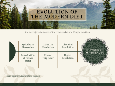 Evolution of the Modern Diet Diagram