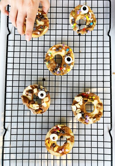 Healthy & Fun Apple Donuts
