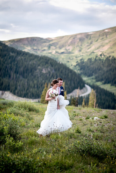 Arapahoe Basin Colorado Mountain Wedding Elopement35
