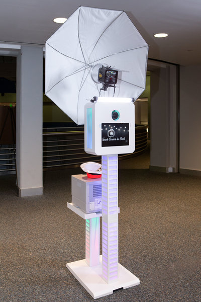 BP Photography's photo booth is completely automated and is simple to setup.