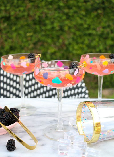 DIY Confetti Coupe Cocktail Glasses-9