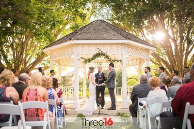 Orange County Heritage Museum Wedding Ceremony