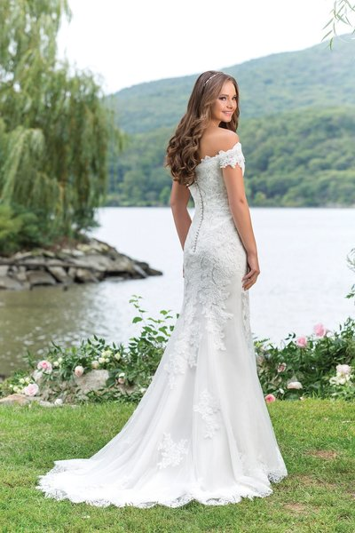 Justin Alexander Wedding Dress 3